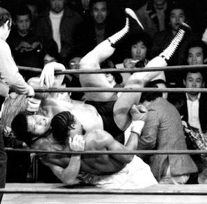 猪木対ウィリーの激闘(1980年2月27日、蔵前国技館)