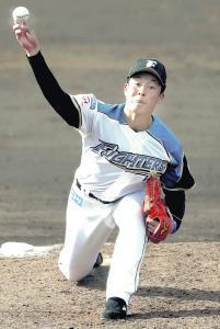 12日の広島戦で先発予定の吉田輝