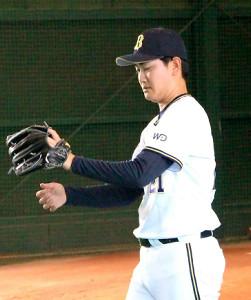 移籍後初先発が決まったオリックス・竹安