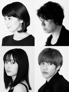 「Q」に出演する(上段左から)松たか子、上川隆也(下段左から)広瀬すず、志尊淳