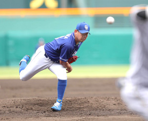 ウエスタン・リーグの阪神戦に先発した松坂