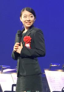平成30年度JOCスポーツ賞の表彰式に出席した紀平梨花