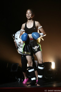 田川女神(C)SHOOT BOXING
