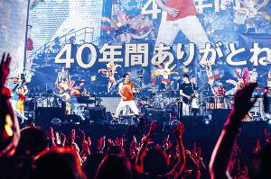 東京ドーム公演で40周年を締めくくったサザンオールスターズ