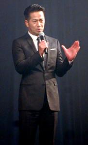 「ショートショートフィルムフェスティバル」授与式に出席したHIRO