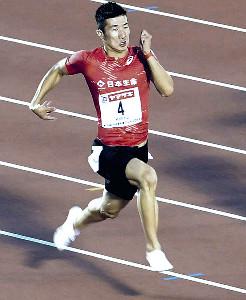 準決勝を2位で通過し決勝へ進んだ桐生祥秀