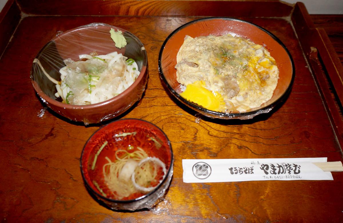 堀口一史座七段戦が午前中に終わり、藤井聡太七段が食べられなかった昼食の他人丼と冷うどん