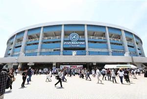 8月4日のイースタン・楽天戦はZOZOマリンで開催される