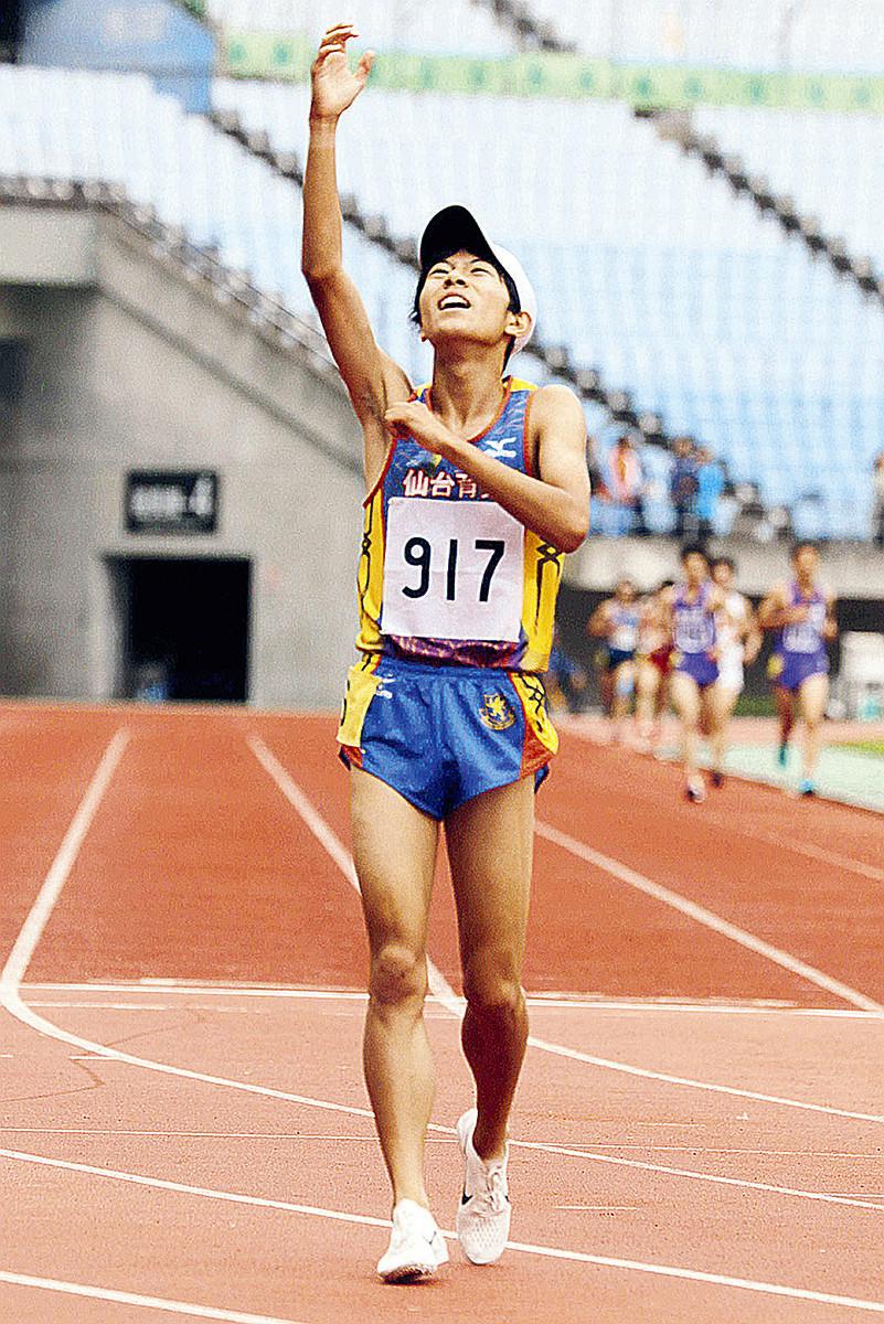 男子5000メートルで今季の日本人高校生最高記録をたたき出した仙台育英高・吉居