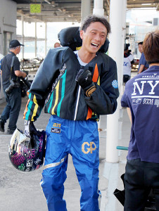 第22回優勝の峰。賞金ランクは2位で、吉川を猛追している