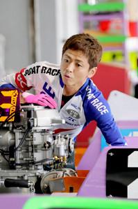 オーシャンカップを3度制している石野。大会最多タイとなる4度目の優勝を狙う