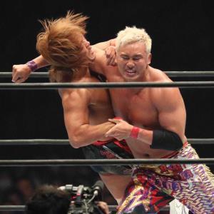 新日本プロレス人気NO1のオカダ・カズチカ。6日のG1米開幕戦でもメインイベントで快勝した