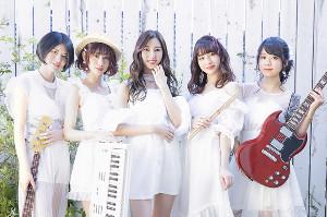 8月7日に1年3か月ぶりの新シングル「キミ、虹、メロディー」を発売する女性5人組バンド「FUN RUMOR STORY(ファン・ルーモア・ストーリー)」