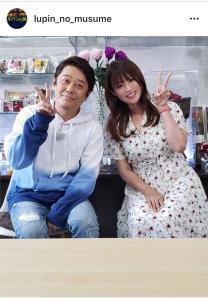 フジテレビ系連続ドラマ「ルパンの娘」公式インスタグラムより@lupin_no_musume