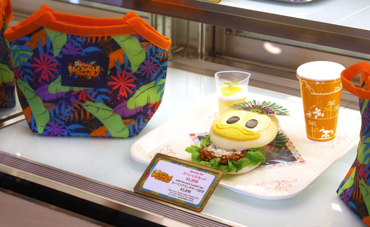 ドナルドダック・サンドのスペシャルセット(スーベニアランチケース付き2050円)
