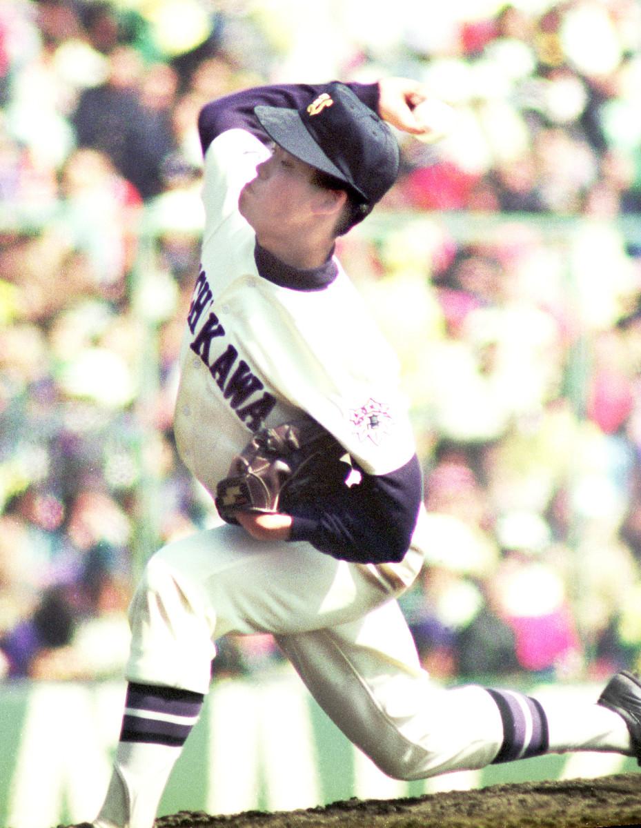 91年センバツで全4試合を投げ抜き4強入りに貢献した樋渡投手