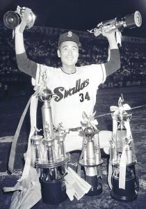 64年オールスターゲーム第1戦、投打に活躍しMVPを受賞した金田