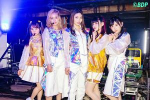 神戸で単独公演を行ったRAISE A SUILENの(左から)倉知玲鳳、夏芽、Raychell、紡木吏佐、小原莉子(C)BanG Dream! Project