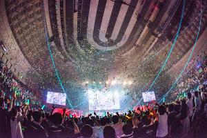 RAISE A SUILENの神戸公演で盛り上がるバンドリーマー(C)BanG Dream! Project