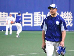 15日の阪神戦で後半戦開幕投手を務める中日・大野雄