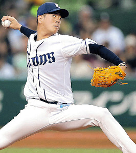 7月中の復帰を予定する多和田真三郎