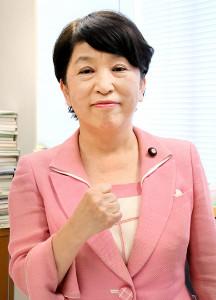党存続を懸ける社民党・福島瑞穂副党首