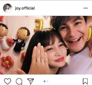 インスタグラムより@joy.official