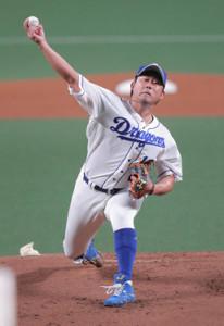 16日の阪神戦で今季初登板した中日・松坂