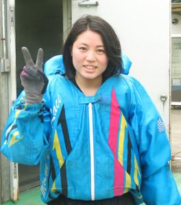 昨年の5月に多摩川で初勝利を挙げた安井