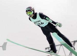 1回目で93メートルをマークした小林陵(カメラ・清藤 駿太)