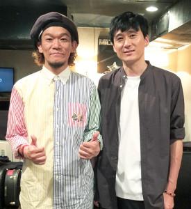 8か月ぶりに共演したOKP―STAR(左)と大介