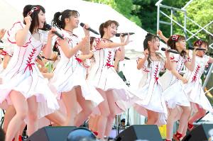 今月3日に都内でイベントライブに出演したNGT48