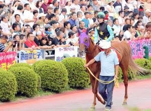 菜七子参戦で前年を大幅に上回るファンが駆けつけた盛岡競馬場