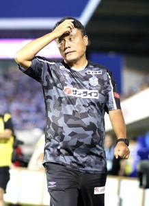 11日の磐田戦で指揮を執った湘南・曹貴裁監督