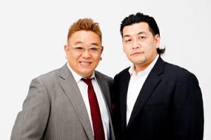 「サンドウィッチマン」の伊達みきお(左)と富澤たけし