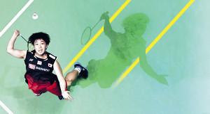 スマッシュを放つ山口茜。東京五輪での活躍が期待される