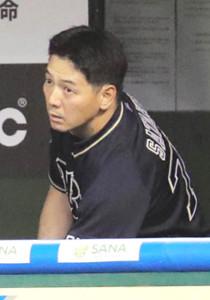 オリックス・佐竹学外野守備走塁コーチ