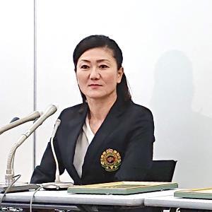 服部道子コーチ