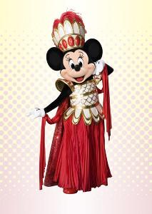 「レジェンド・オブ・ミシカ」のコスチュームを着たミニーマウス(C)Disney