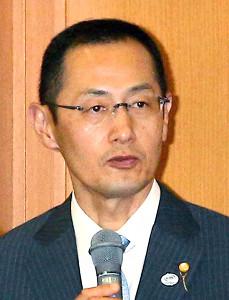 京都大学iPS細胞研究所の山中伸弥所長