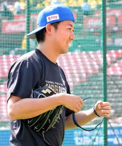 背番号41と同じくプロ野球41人目の600登板を達成した青山浩二