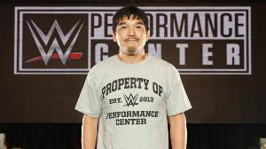 WWEのコーチに就任した石澤常光氏(C)2019 WWE, Inc. All Rights Reserved.