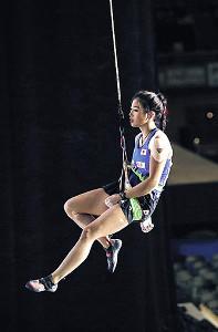 女子スピード予選、25位で敗退した野中生萌