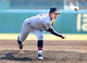 先発し打者11人を相手に5点を失った仙台育英・伊藤
