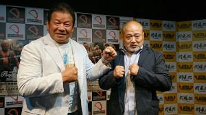 藤波(左)とヒロ斉藤