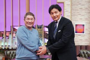 ビートたけし(左)と貴乃花光司氏(C)テレビ東京