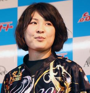 現役女子オートレーサーの交川陽子