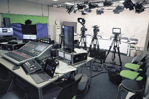 文化放送が新設した本格映像スタジオ「Jスタ」