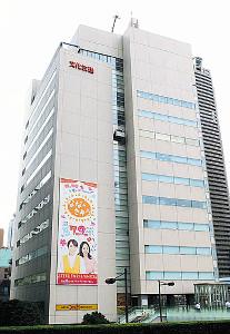 東京・浜松町にある文化放送社屋
