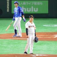 1回2死一、二塁、ソトに先制3ランを打たれた桜井俊貴
